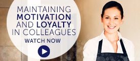 Briefing: maintaining motivation and loyalty in colleagues