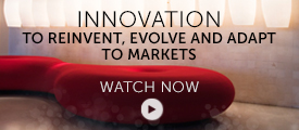 Briefing: innovation to reinvent, evolve and adapt to markets
