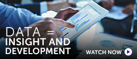 Briefing: Good data management brings insight and development